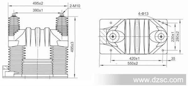 电压互感器与电流互感器的工作原理图片