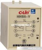 欣灵电子式时间继电器 HHS5-Y 外接线式继电器