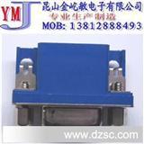 HD15/F板端连接器,蓝胶,环保、VGA接头 RGB接头