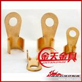 金天金具厂家直销OT铜开口鼻 铜线耳 铜线鼻3A-1000A规格齐全