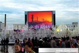 中石化胜利广场LED-P16全彩46平方/LED高清显示电子屏/