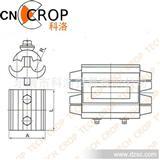 电力金具 异型并沟线夹 铜铝线夹 设备线夹 C型线夹 JBL-S