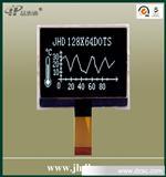 12864液晶�@示模�K/2.2英寸/JHD12864-G66BSW-BL