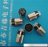 厂家低价销售优质连接器 迷你钉系列 MD8P带地 铜环保