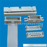 现货2.54间距优质耐高温压线式带锁牛角插座