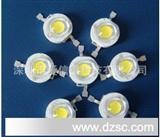 厂家生产1W灯珠LED大功率白光 LED大功率灯珠