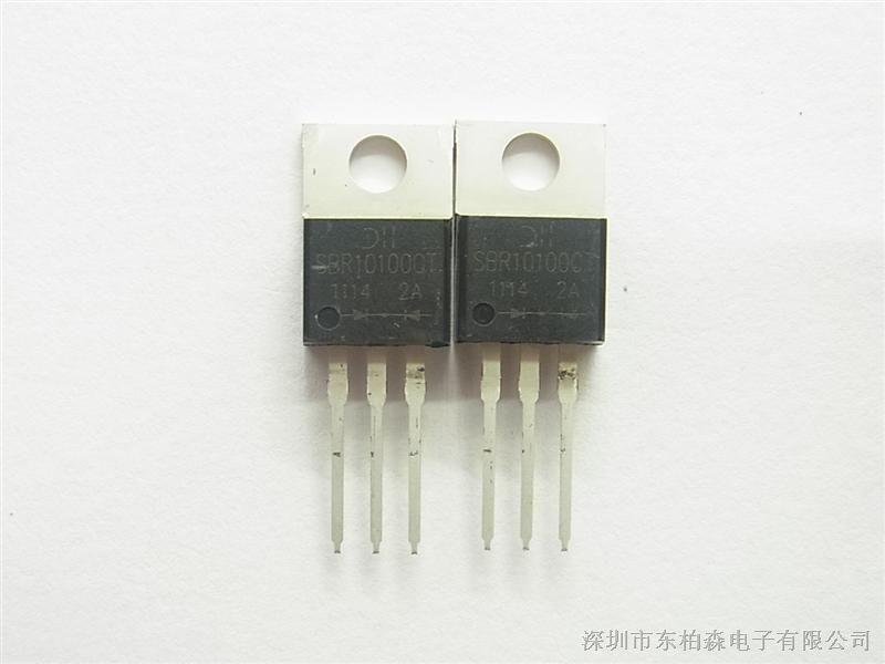 供应肖特基二极管SBR20100CT原装美台20A 100V SBR20100CTSBR20100CT