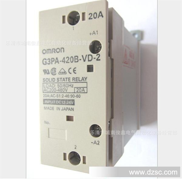 特价热销:omron欧姆龙固态继电器g3pa-420b-vd-2图片