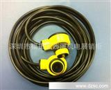 特供黄色圆形对射光电传感器/防水型对射光电开关15米