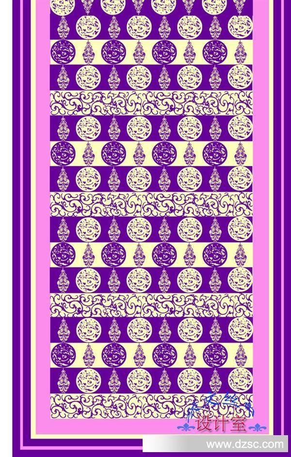 紫色领带矢量图