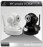 IP Camera wifi 摄像头 网络摄像机ir-cut高清h.264 TI方案 TF卡