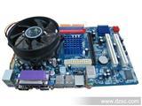厂家电脑主板 intel G41套板带intel至强CPU 显卡 声卡 网卡