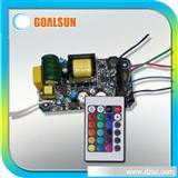 标准开发10串3并RGB电源可IR无线红外七彩led恒流驱动电源