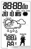 天气预报IC  月相和穿衣指数 彩色led驱动