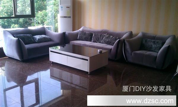家具厂沙发厂批发厦门包送货银色皮沙发水晶沙发简欧