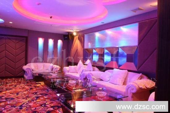 欧式紫色沙发客厅