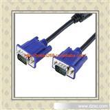 小兰头VGA线  15针双公VGA线 原装全通VGA数据线 高清线