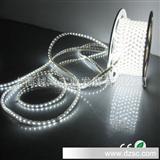 工厂直销质保三年 批发七彩柔性高压220V光条RGB LED SMD5050