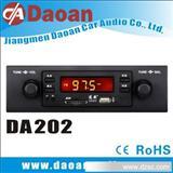 道安汽车音响厂家直销通用型单锭车载MP3 DA202