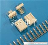 2510、2.54-4P特殊胶壳,弯针座,条形连接器、接插件