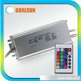 LED变色灯专用ZK自变调光rgb驱动电源60W