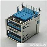USB3.0连接器,USB3.0双层母座(质优价平)