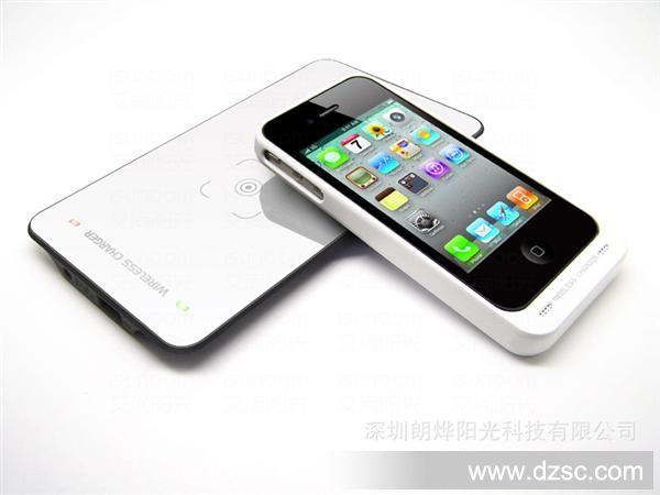 苹果无线充电器 iphone4 出口英国充电器 qi 无线 无线充电器图片