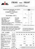 (3)厂家现货快恢复二极管  FR107