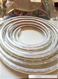【年底促销】220V正白光5050软灯条 led防水灯带 led灯带灯条厂家
