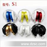 厂家直销超强音质 头戴 跑步MP3 无线耳机 运动mp3 插卡mp3 带FM