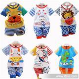 【伙拼组货款】2014春装新款 小中童装婴幼宝宝奥戴尔两件套装