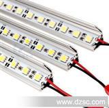 LED灯条硬灯条5050灯条5050灯带展柜灯黄金首饰台灯72珠。
