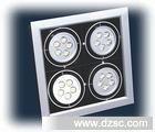 四头格栅灯 12W4头LED大功率豆胆灯 4*3*1WLED格栅灯 豆胆灯