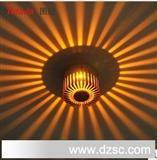 【图拉】1W大功率LED太阳花背景墙射灯天花灯/节能顶灯壁灯6002