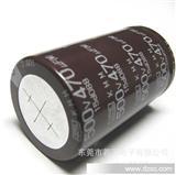 原装NCC黑金刚电容器 105度 KMM系列牛角电解电容500V470UF 35*60