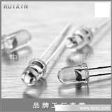 【主打产品】5mm白发白led发光二极管 纯金线