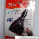 75w 12v转220V逆变器USB车载 电源转换器 车载充电器 G8123