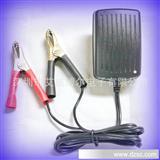 【厂家直供】智能三段式充电桌面式12v铅酸电池充电器