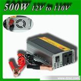 美诺迪车载逆变器足500W 逆变器电源 12V转110V不充电 车载电源