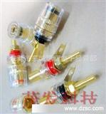 加长铜镀金接线柱 水晶接线柱 音响功放接线柱 透明接线柱