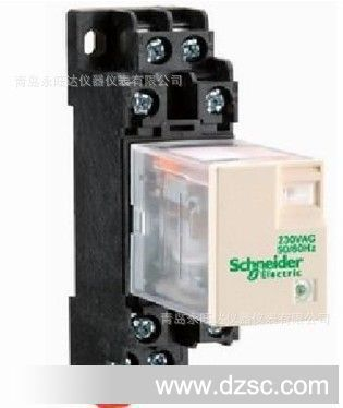 代理批发施耐德RXM2AB...RXM3AB...RXM4AB...系列小型中间继电器_继电器_
