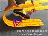 地面压线桥 PVC线槽板价格 双孔线槽板