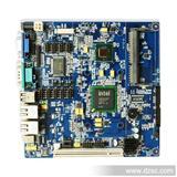D525miniITX工控主板 10个COM口DC12V双网口点菜机POS机工控主板