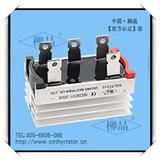 三相桥式整流器 SQLF2510  SQLF25A1000V 中频电源配件 含散热器