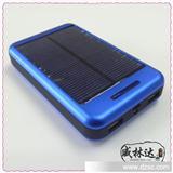 三星手机充电宝 中性 双USB输出 LED照明 10500mA太阳能移动电源