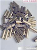 【厂家直销】H65黄铜管BN5.5中间端头、黄铜冷压接线端子