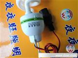 厂家照明灯24v低压节能灯 夜市专用电瓶直流 带线1.5m 品字插头