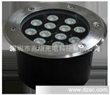 户外亮化工程LED大功率地埋灯具圆形/方形单色/七彩质保三年