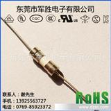 3.6*10mmF630mA250V快断陶瓷保险丝,双帽引线玻璃保险管