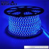 厂家批发220V高压超亮LED灯带 3528最新款 单色60灯LED软灯条